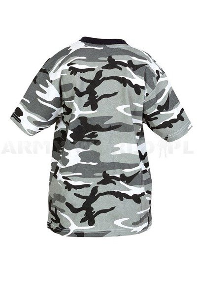 Children's T-shirt Metro Military T-shirt with short sleeves Mil-tec New
