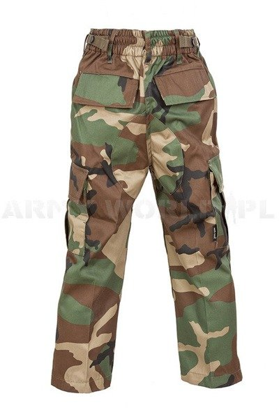 Children's trousers Model US Woodland Mil-tec New