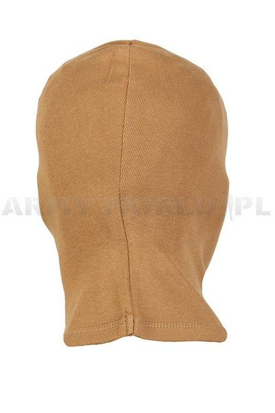 Cotton 3-hole balaclava Mil-tec New Model Coyote