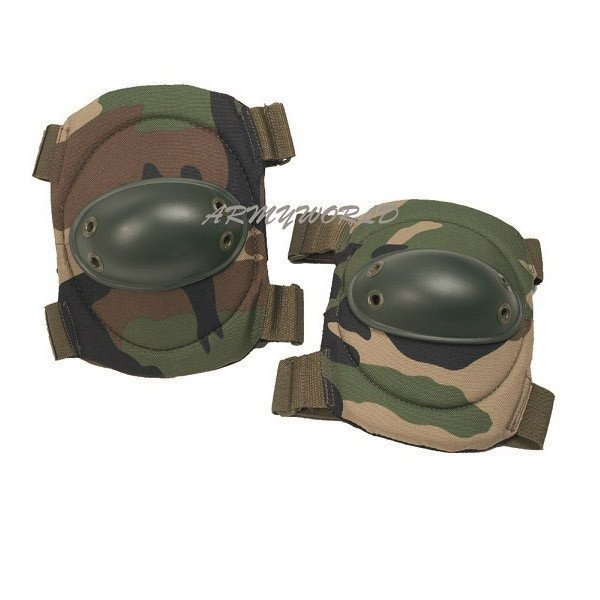 Couters Elbow Protective Pads Woodland PAINTBALL ASG Mil-tec Nwe