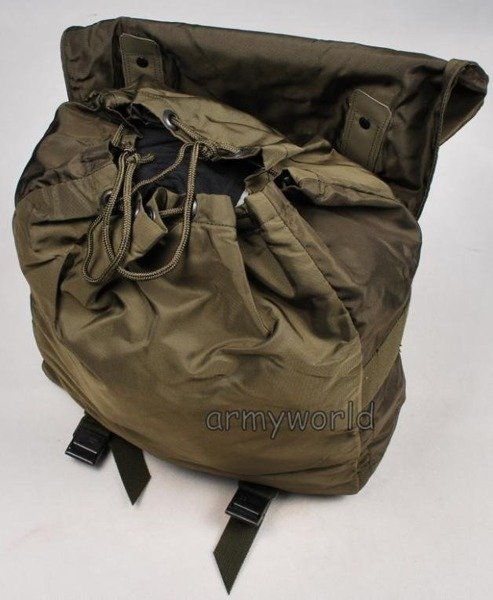 Cover For Haversack Austrian Military Oliv Original Demobil