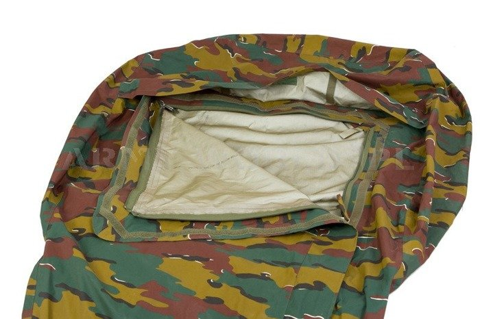 Cover For Sleeping Bag Gore-tex Military Belgian Model 2 Original Demobil