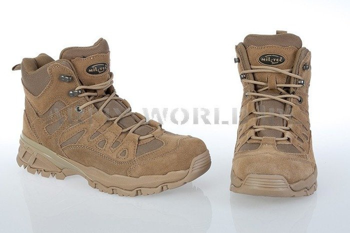 Desert Boots Trooper Khaki Trekking Leather