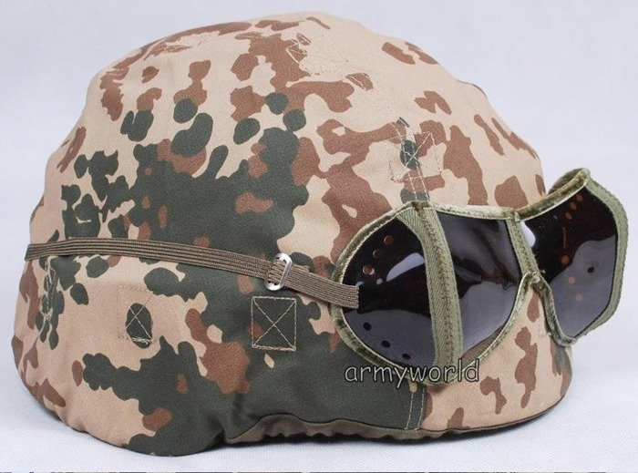 Desert Pocket Glasses / Anti-dust Goggles Bundeswehr Original Demobil