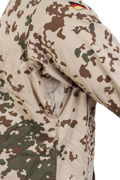 Desert Shirt Tropentarn / Wustentarn Bundeswehr Original Demobil Set of 10 pieces II Quality SecondHand