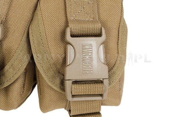 Double Pouch On Strip BLACKHAWK Molle Coyote Original New