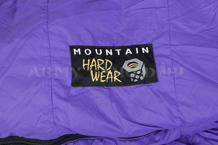 Down Sleeping Bag Mountain Hardwear Tioga Mummy Purple Used