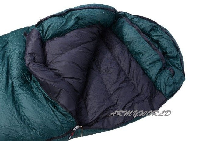 Downy Sleeping Bag Western Mountaineering 66 BRISTLECONE MF Up to -23 degrees C Original Demobil