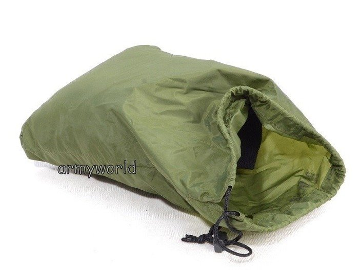 Dutch Military Cover Green Original Rainproof Demobil 40 cm x 28 cm