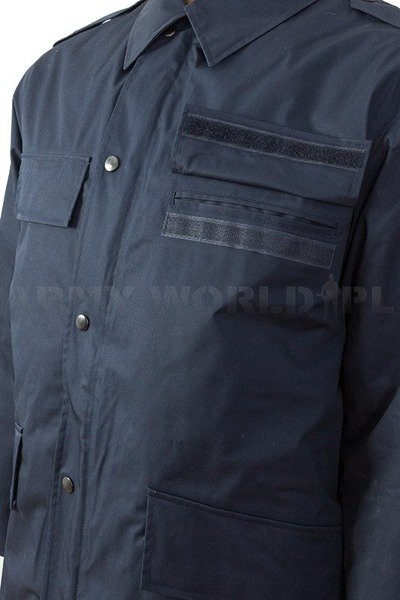 Dutch Military Jacket Dark Blue With Liner Original New