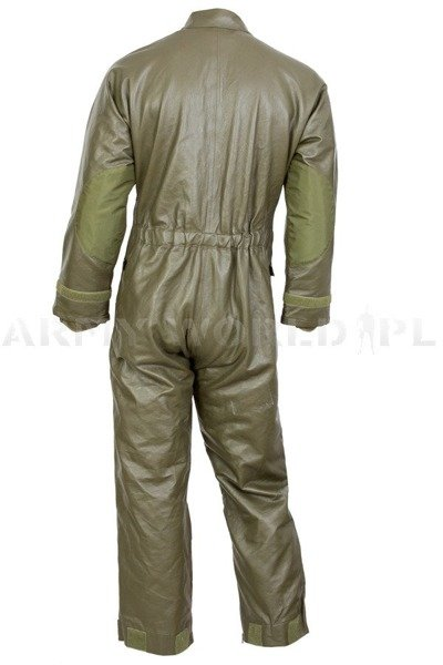 Dutch Military Leather Warmed Overalls Oliv Original Demobil
