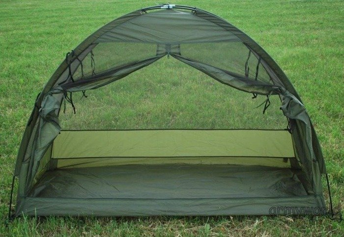 Dutch Military Mosquito Net Original Demobil Model II Without Frame