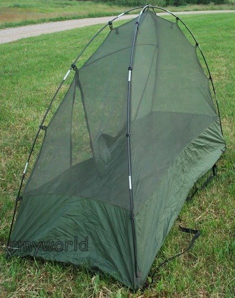 Dutch Military Mosquito Net Original With Frame Demobil Model I