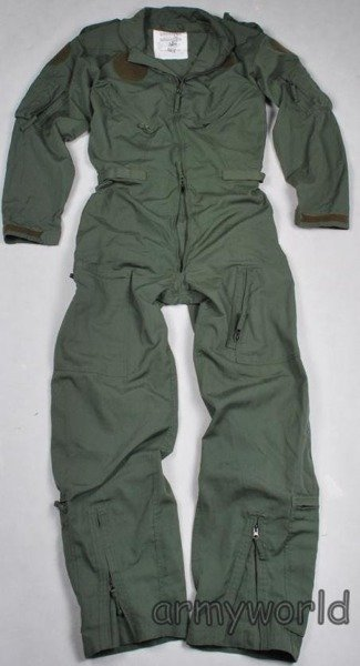 Dutch Military Pilot's Suit Nomex Original