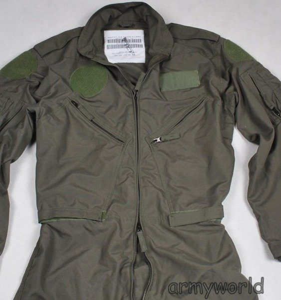 Dutch Military Pilot's Suit Nomex Original New