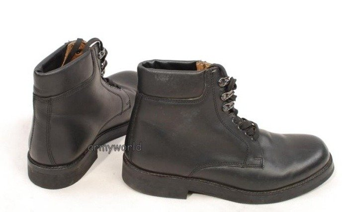Dutch Military Shoes Leather Above Ankle Original Looks Like New