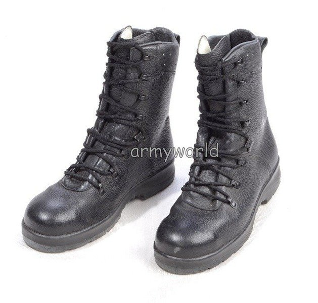 Dutch Military Shoes With Metal Tips HAIX Original Neu