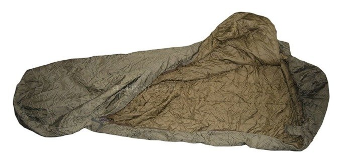 Dutch Military Sleeping Bag With Mosquito Net Summer Version Original Demobil