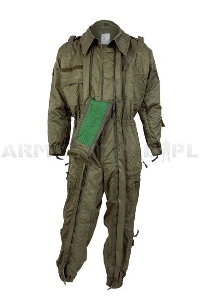 Dutch Military Suit Overalls SWAT Type Oliv Nomex New