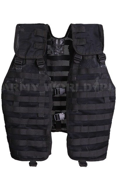 Dutch Modular Military Vest Black Original Demobil