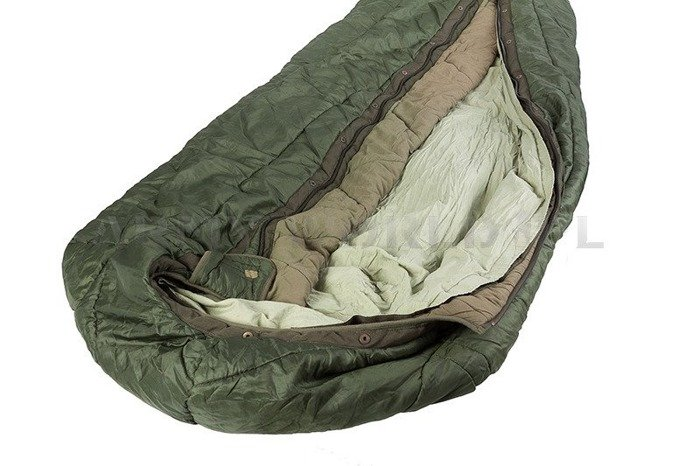 Dutch Sleeping Bag EXTREME  COLD  Mummy Type Up To - 30 Degrees C Original Demobil