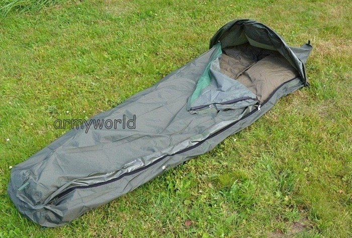 Dutch sleeping Bag Cover  Bivi Cover Norka With Moskito Net Oliv Demobil