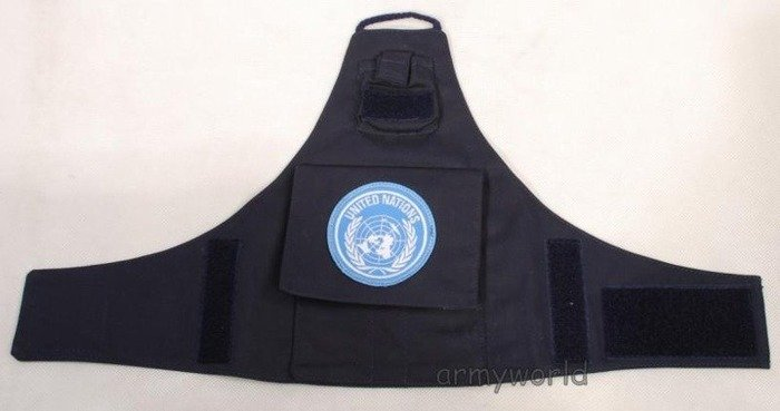 Epaulette With UN Indication ONZ Navy New