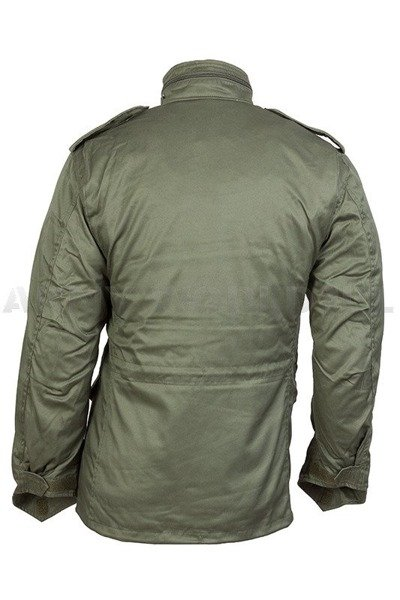 Field Jacket With liner Model M65 Mil-tec Oliv New