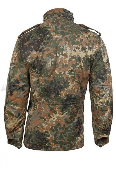 Field Jacket with Liner Model M65 Mil-tec Flecktarn New
