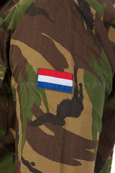 Field Shirt Long Sleeves Camouflage DPM Military Dutch Original Demobil