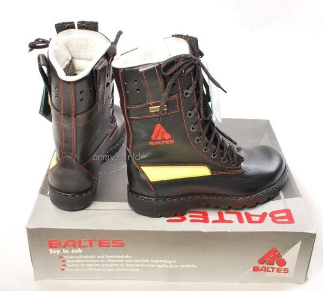 Firefighter Boots Baltes ARGON W.12 SYMPATEX With Metal Tips Trial Version New