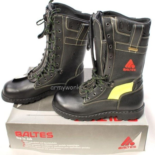 Firefighter Boots Baltes XENON W.11 SYMPATEX With Metal Tips Trial Version New