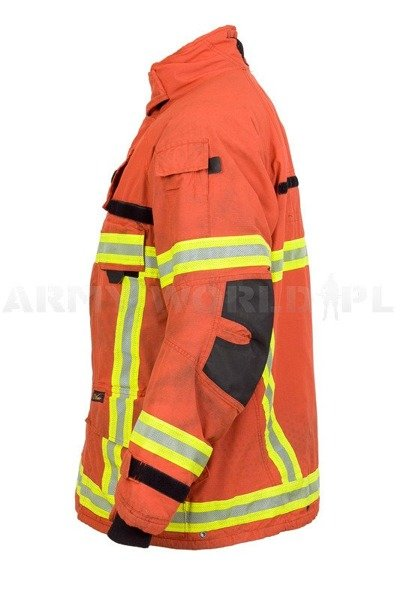Firefighter Jacket Aramid / Gore-tex Flame-retendant and Waterproof  V-Force Original Used