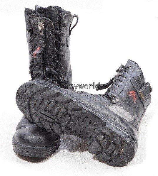 Firefighter Shoes Baltes S3 SYMPATEX Demobil Good Condition #5