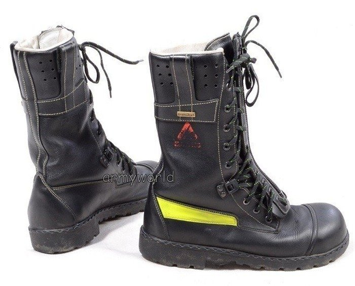 Firefighter Shoes Baltes S3 SYMPATEX Demobil Very Good Condition #1