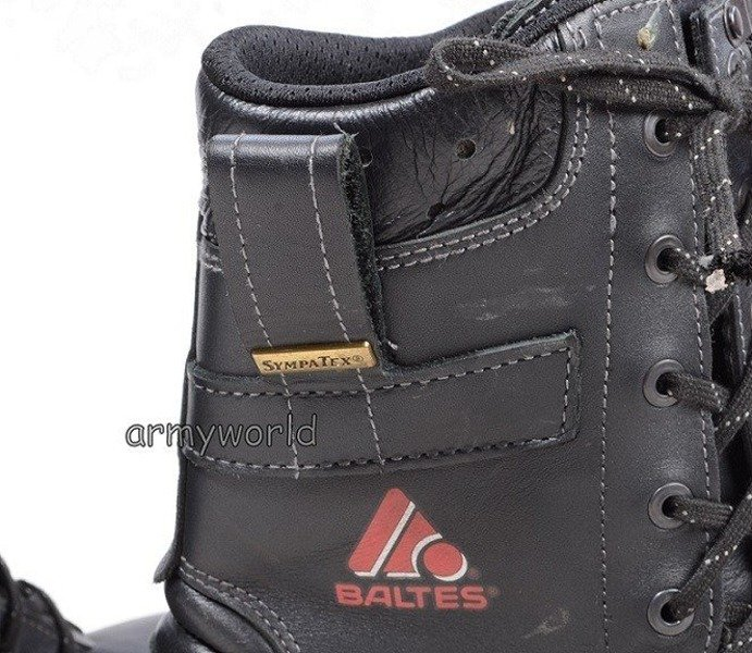 Firefighter Shoes Baltes S3 SYMPATEX Demobil Very Good Condition #2