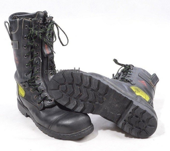 Firefighter Shoes Baltes S3 SYMPATEX Demobil Very Good Condition #3