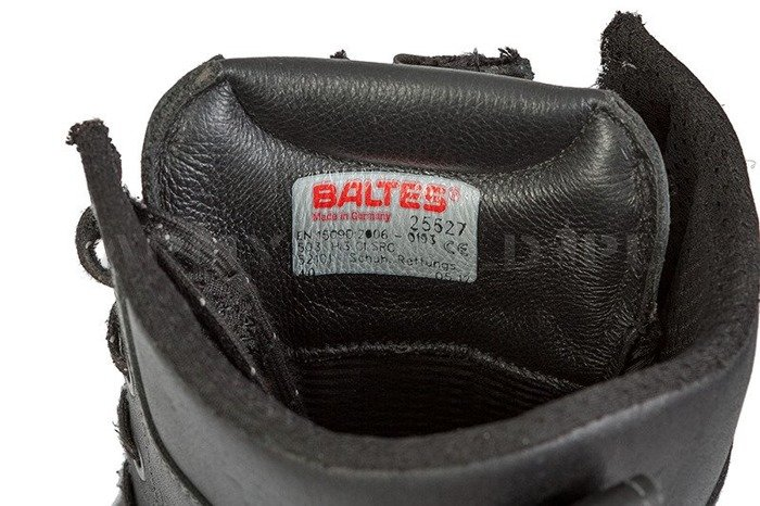 Firefighter Shoes Baltes S3 SYMPATEX Demobil Very Good Condition  #7
