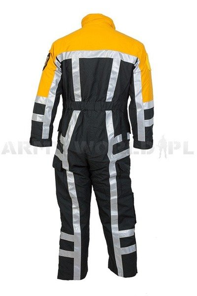 Firefighter Suit Nomex / Kevlar Flame-retendant Water-resistant Original Demobil Very Good Condition