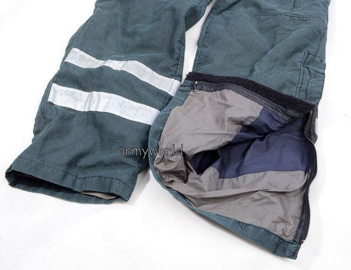 Firefighter Trousers Nomex / Gore-tex Flame-retendant Waterproof Dutch Horizontal Reflectors Demobil