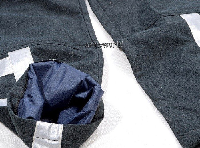 Firefighter Trousers Nomex / Gore-tex  Flame-retendant Waterproof Dutch Vertical Reflectors New