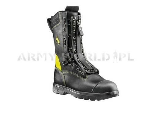 Firemen Shoes HAIX ® Gore-tex Fire Flash Gamma Bundeswehr Original Demobil