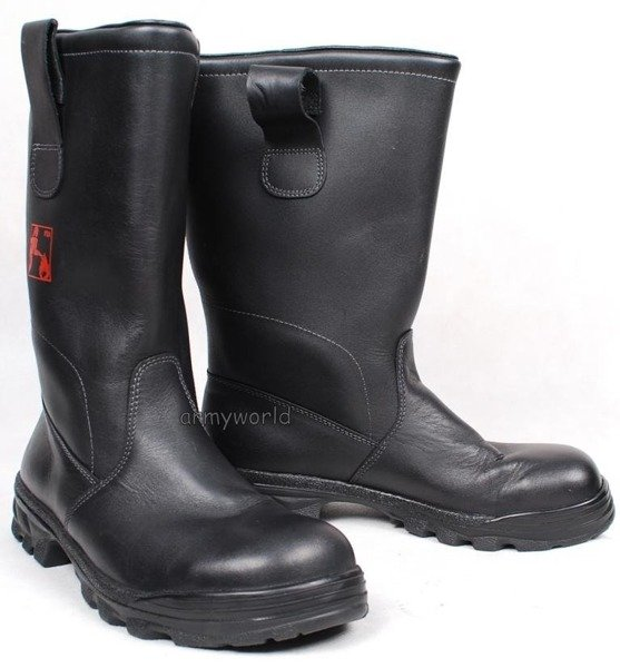 Firemen Shoes Leather Jackboots Original Good Condition