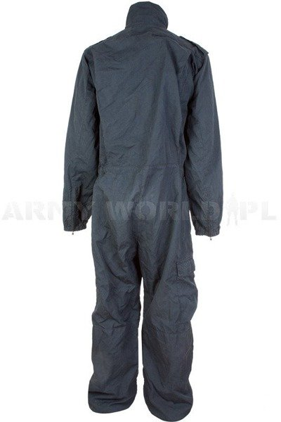 Flame retardant Coveralls Kermel Derby Unitex Dark Blue Used