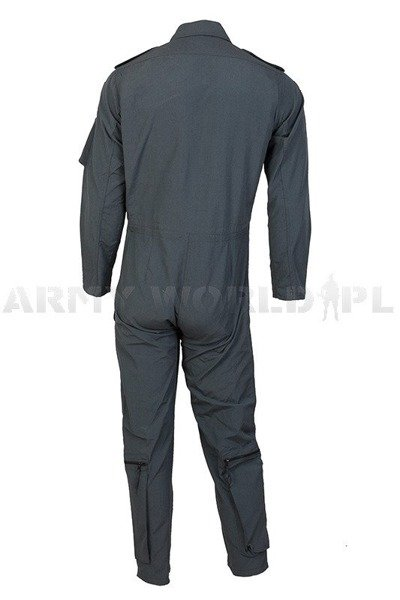 Flame retardant Pilot Suit  100% Aramid Bundeswehr Grey New