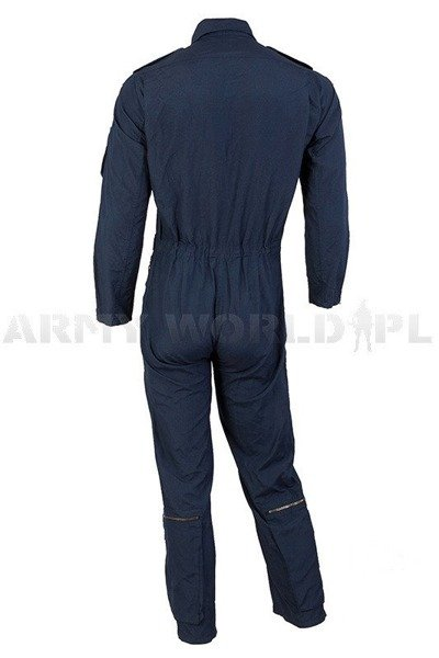 Flame retardant Pilot Suit 100% Aramide Bundeswer Dark Blue New
