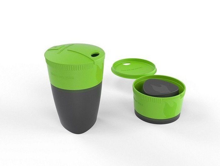 Foldable cup Pack-up-Cup Light My Fire Green New