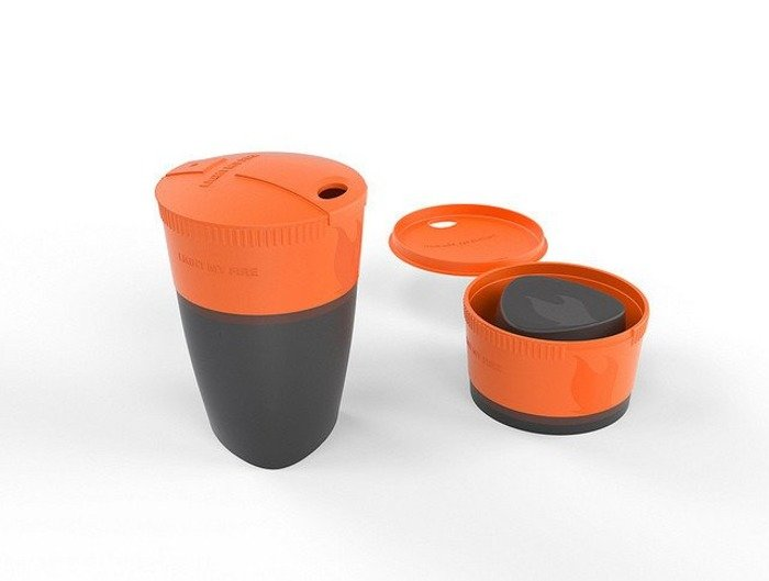 Foldable cup  Pack-up-Cup Light My Fire Orange New