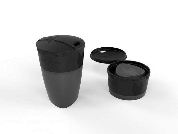 Foldable cup Pack-up-Cup Light My Fire black new
