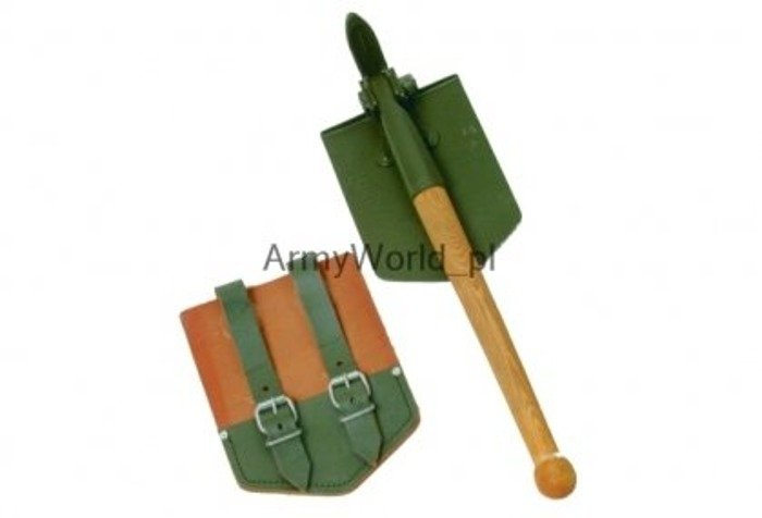 Folding Shovel With Pickaxe Bundeswehr Original Demobil